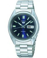 Seiko 5 Men's Automatic Watches Blue Dial Steel Bracelet RRP£149 SNXS77 SNXS77K1
