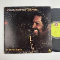 Cannonball Adderley Quintet Country Preacher Capitol 404 SPIRITUAL GATEFOLD LP