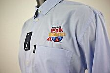 NEW Nautica America's Walk for Diabetes Embroidered Men's Long Sleeve Shirt XL