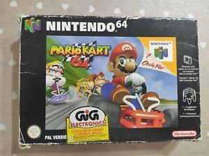 Mario kart 64 Nintendo 64 N64 PAL  ITA