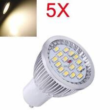 5X GU10 6.4W Warm White SMD 5630 LED Spot Light Bulb AC 85-265V