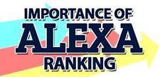 Amazing Alexa Ranking Service