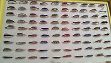 Joblot OF 100 PCS MIXED COLOUR Diamante FASHION Rings-NUOVO all' ingrosso Lotto 7
