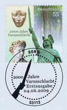 BRD 2009: varusschlacht nº 2738 con el bonner primero etiquetas-sello especial! 1a 1510