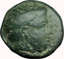 Philip II Alexander the Great Dad OLYMPIC GAMES Ancient Greek Coin Horse i33761