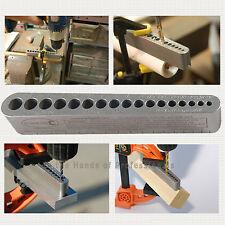 Big Gator Tools BGT V-Drill 3 Pack V-DrillGuides - SAE / Metric Sizes Set