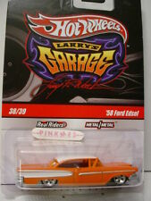 2010 Hot Wheels #38 Larry's Garage '58 FORD EDSEL 1958∞CHASE∞Orange∞real Riders