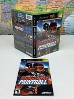 SHIPS SAME DAY *Case & Manual* GREG HASTINGS TOURNAMENT PAINTBALL XBOX