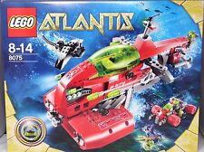 Lego bajo el agua atlantis 8075 Neptuno submarino y scooter sin abrir nuevo New