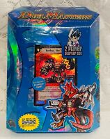 NEW Duel Masters Trading Card Game DM-01 2 Player Starter Deck Set +Booster Pack