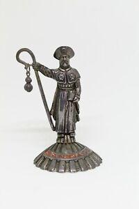 Figura de Metal APOSTOL SANTIAGO, Camino de Santiago, Compostela.   VINTAGE