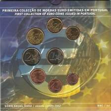 Portugal BU set 2002 / 1 cent - 2 euro KMS