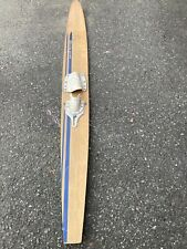 Antique Vintage Waterski White Stag 66 Inches Long Old Rare Ski Art Cabin Home