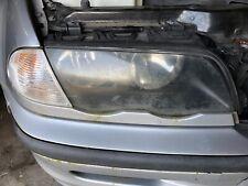 BMW E46 3er Limousine Frontscheinwerfer rechts 63126906494 ZKW Leiste silber