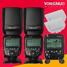 Yongnuo 2PC YN600EX-RT II Wireless Speedlite &YN-E3-RT Transmitter for Canon Kit