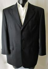***RAINONE GIACCA Jacket TG.52R  in fresco lana Super 120's  elegante nero