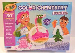Crayola - 50pc Color Chemistry Arctic Lab Craft Set