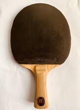 Stiga Hans Alser 1980 - Gomma Sriver FX Butterfly JTTAA con custodia - Ping Pong