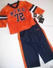 Nuevo Nike Conjunto de 2 piezas 5-6 años Naranja Para Niños Azul Marino'