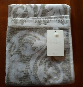 NWT Anthropologie Nobleford Towel Collection, 1 Hand Towel, Gray, $18