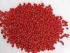 50g 4mm 6/0 Glass Seed Beads - OPAQUE RED ( approx 750pcs ) FREEPOST AUSTRALIA