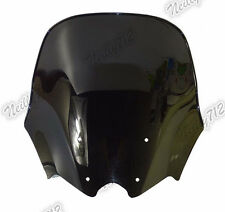 Double Bubble Windscreen Windshield Smoke For 2012-2016 HONDA NC700S NC750S RC61