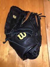 "Wilson A500 Exclusive Ecco Leather 12"" Baseball Glove Mitt Right Hand Throw"