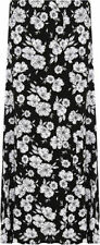 Viscose Floral Plus Size Maxi Skirts for Women