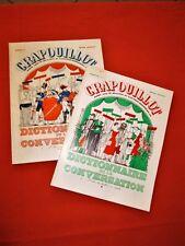 LE CRAPOUILLOT.- Dictionnaire de la conversation (2 tomes). Tirage de tête