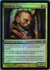 Gaddock Teeg FOIL Lorwyn (SPANISH) NM White Green Rare CARD (36305) ABUGames
