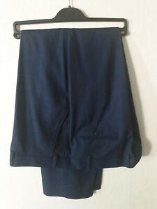 Mens Blue Trousers. Size 44R. - BNWOT - Ideal Office or Smart Casual Wear.