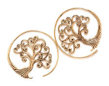 Baum Des Lebens Scarlett Ohrhänger Bronze Symbol Schmuck - Neu