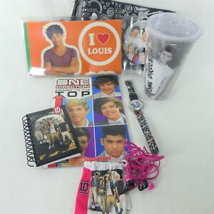 Lot of  One Direction 1D Gear Headphone Stickers Watch Notepad Carry Case