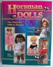 NEW HORSMAN DOLLS $$$ PRICE VALUES GUIDE COLLECTOR'S BOOK