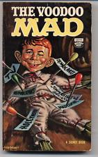 Vintage 1963 The VOODOO MAD Comic Cartoon Paperback Book Fiction