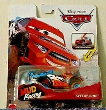 DISNEY PIXAR CARS MUD RACING XRS #21 SPEEDY COMET 1/50 CAR VERY NEW! RARE!