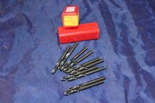 SKF HSS Screw Machine Length Drills Right Hand 0212BL A230 3/16 10 in box