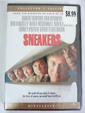 Sneakers Collector's Edition DVD NEW - Robert Redford Dan Aykroyd Sidney Poitier