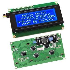 IIC/I2C/TWI/SPI Serial Interface2004 20X4 Character LCD Module Display Blue CK