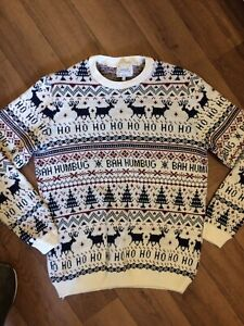 mens christmas jumper large From Top Man
