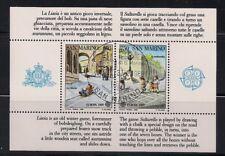 San Marino  1989  Sc #1171  Europa  s/s  CTO  MNH  OG  (41143)