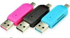 2 In 1 - USB OTG Adapter Micro SD TF SDHC Card Reader