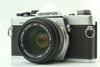 *Exc+3*  Olympus OM-2 Silver 35mm SLR Body Zuiko Auto-S 50mm f/1.8 Lens JAPAN