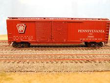 HO SCALE KAR-LINE PENNSYLVANIA PRR #75601 DOUBLE DOOR 50' BOX CAR