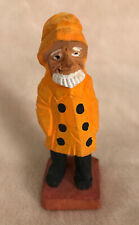Vintage Wood Carving Of A Quaint Seaman ~ A Great Gift for that Special Seafarer