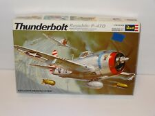 Thunderbolt Republic P-47D 1/32 scale Revell 1969
