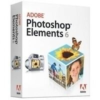 Adobe Photoshop Elements 6 for Mac CD Manual and Serial Number