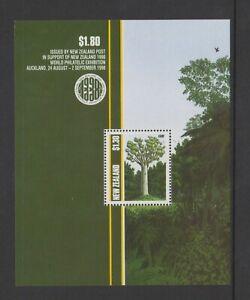 New Zealand - 1989, Native Trees. sheet - MNH - SG MS1515