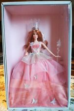 BARBIE GOLD LABEL GLINDA WIZARD OF OZ FANTASY GLAMOUR GOOD WITCH NRFB COLLECTOR