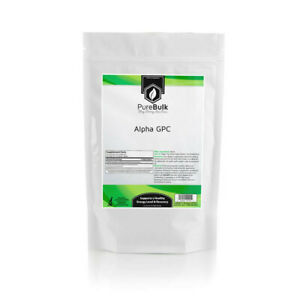 Alpha-GPC Powder 3rd Party US Lab Tested - Choline Source Nootropic (Variations)
